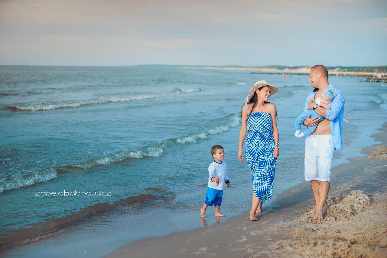 sesja rodzinna ustka słupsk koszalin morze fotograf rodzinny plener